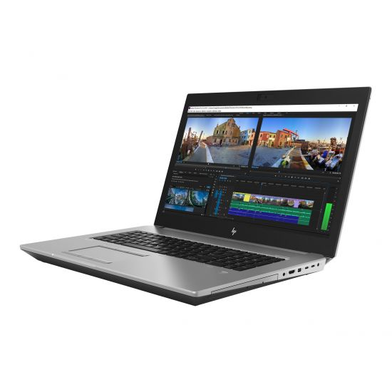 "HP ZBook 17 G5 Mobile Workstation - 17.3"" - Core i7 8750H - 16 GB RAM - 512 GB SSD - Dansk"