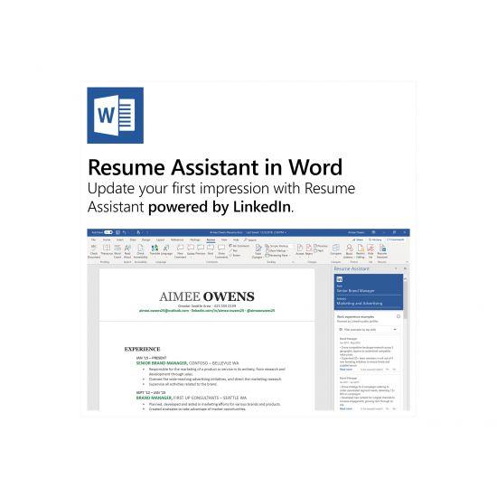 Microsoft Office 365 Personal - bokspakke (1 år) - 1 person