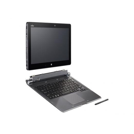 """Fujitsu Stylistic Q665 - 11.6"""" - Core M 5Y31 - 4 GB RAM - 256 GB SSD - Nordisk"""