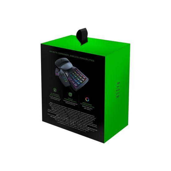 Razer Tartarus V2 - tastatur - med scrollhjul, 8-way directional thumbpad