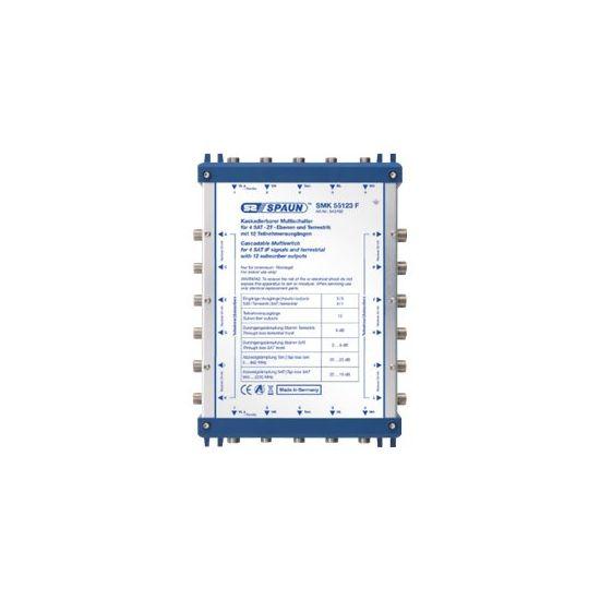 Spaun SMK 55123 F - multikobling til satellitsignal