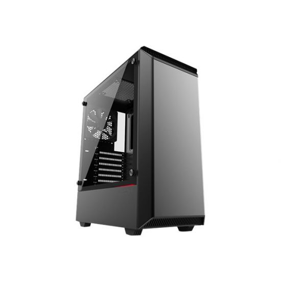 Phanteks Eclipse P300 Tempered Glass - miditower - udvidet ATX