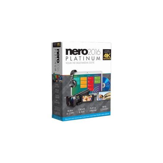 Nero 2016 Platinum - bokspakke - 1 bruger