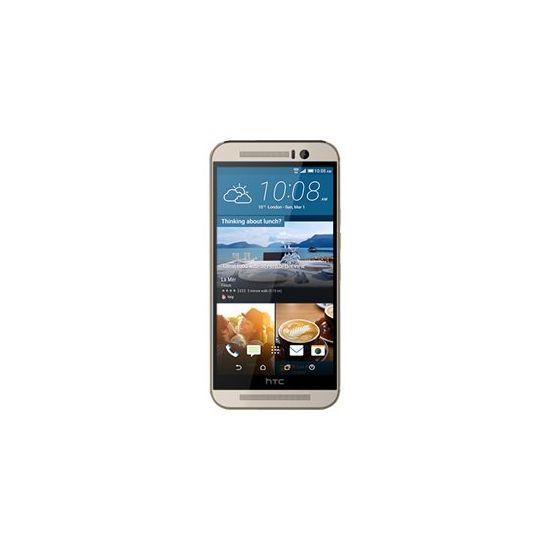 HTC One (M9) - guld på sølv - 4G HSPA+ - 32 GB - GSM - smartphone