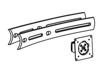 Ergotron DS100 Triple Display Upgrade Kit