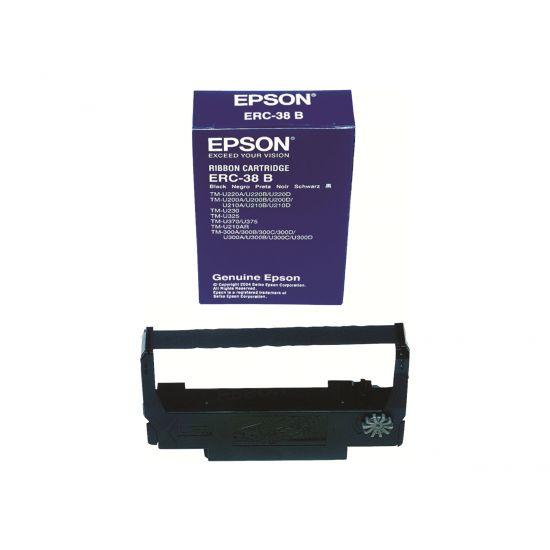 Epson ERC 38B - 1 - sort - print-bånd