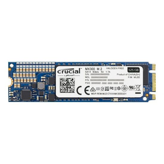 Crucial MX300 &#45 525GB - SATA 6 Gb/s - M.2 Card