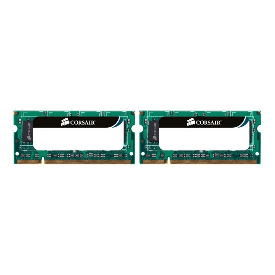 Corsair Value Select - DDR2 - 8 GB: 2 x 4 GB - SO DIMM 200-PIN