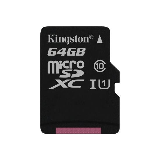 Kingston Canvas Select - flashhukommelseskort - 64 GB - microSDXC UHS-I