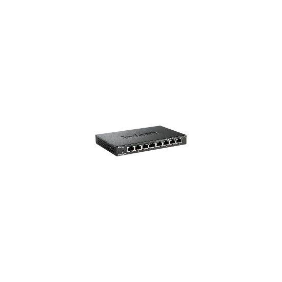 D-Link DES 108 - switch - 8 porte