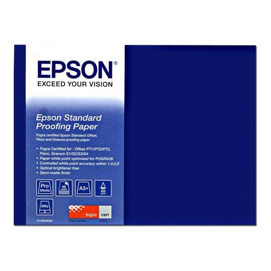 Epson Proofing Paper Standard - korrekturpapir - 100 ark - 359 x 559 mm - 240 g/m²
