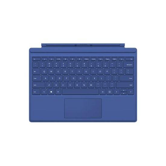 Microsoft Surface Pro 4 Type Cover - tastatur - med trackpad, accelerometer - Dansk/Finsk/Norsk/Svensk