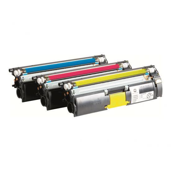 Konica Minolta Toner Value Kit - 3 pakker - høj kapacitet - gul, cyan, magenta - original - tonerpatron