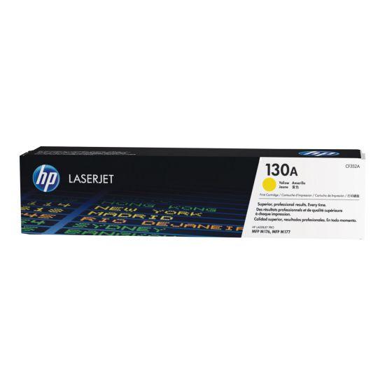 HP 130A - gul - original - LaserJet - tonerpatron (CF352A)