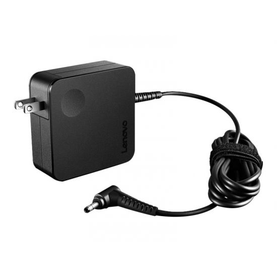 Lenovo 65W AC Wall Adapter (Mini Round Tip) - strømforsyningsadapter - 65 Watt