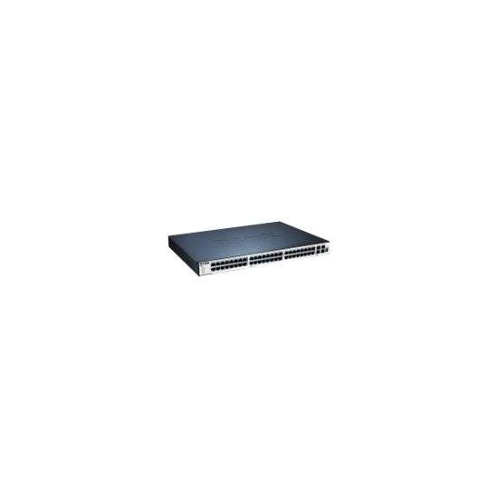 D-Link xStack DGS-3120-48TC - switch - 48 porte - Administreret