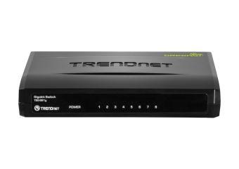 TRENDnet TEG S81g 8-Port Gigabit GREENnet Switch