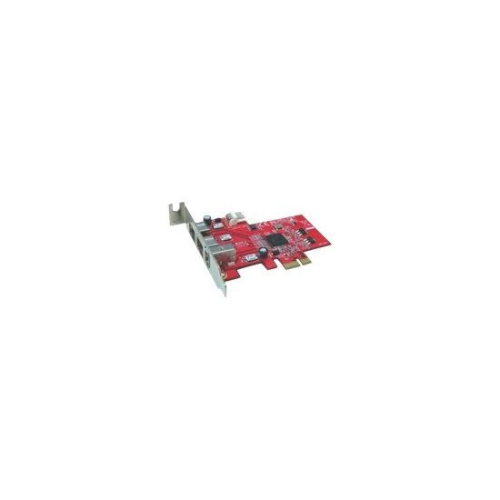 LyCOM PE-107 - FireWire adapter - 3 porte