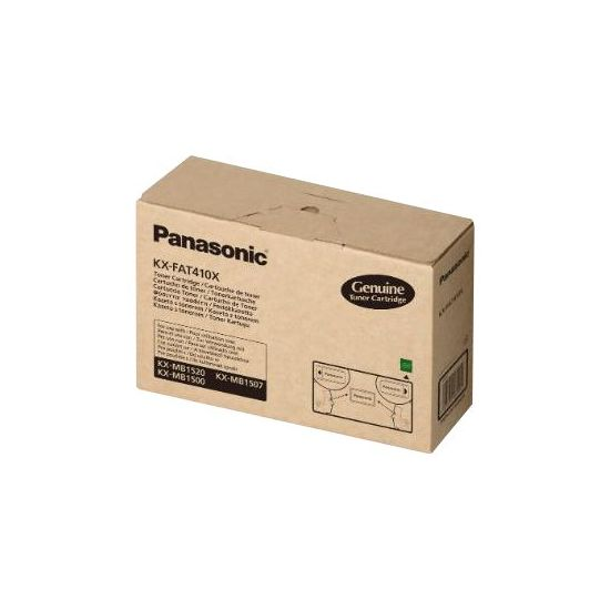 Panasonic KX-FAT410X - sort - original - tonerpatron