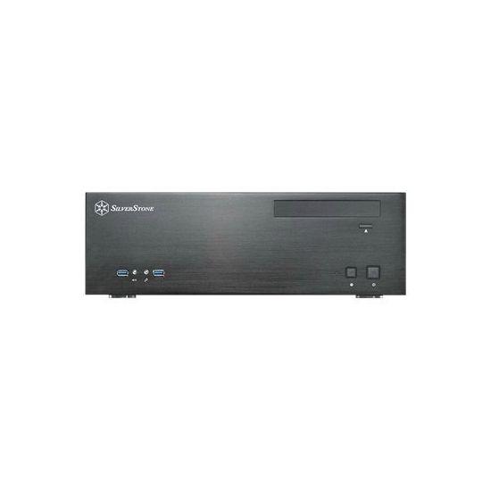 SilverStone Grandia GD04 - desktopmodel - micro-ATX