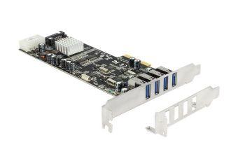 DeLock PCI Express Card > 4 x external USB 3.0 Quad Channel
