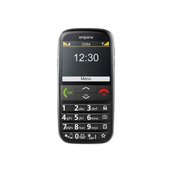 emporia EUPHORIA 3G - sort - 3G GSM - mobiltelefon