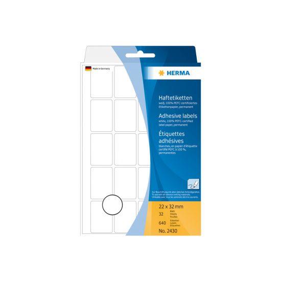 HERMA - etiketter - 640 etikette(r) - 22 x 32 mm