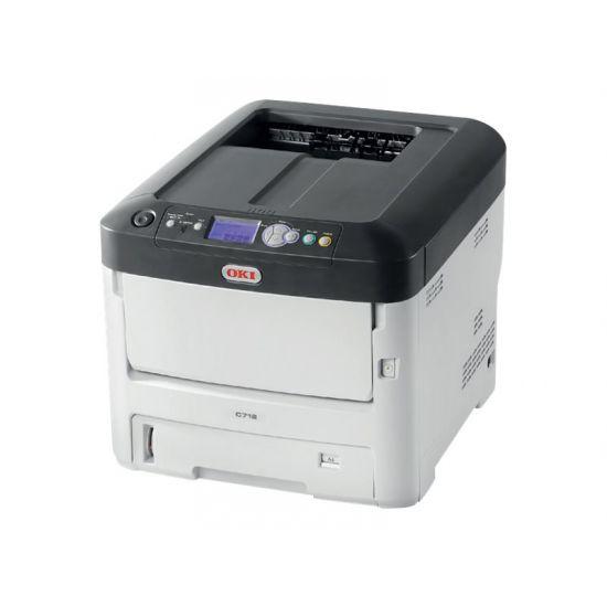 OKI C712n - printer - farve - LED
