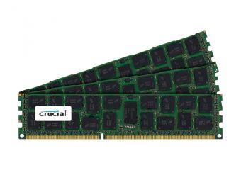 Crucial &#45 24GB: 3x8GB &#45 DDR3 &#45 1600MHz &#45 DIMM 240-pin