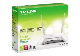 TP-Link TL-MR3420 3G/4G 300Mbps Wireless N Router