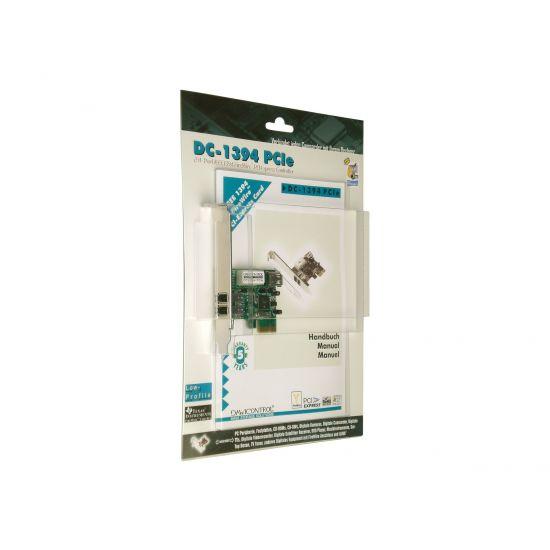Dawicontrol DC-1394 PCIe - videooptagelsesadapter - PCIe