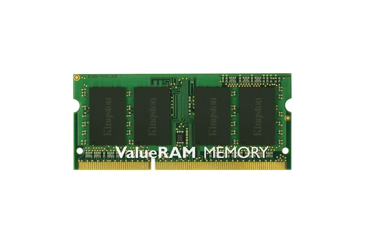 Kingston ValueRAM &#45 8GB &#45 DDR3 &#45 1333MHz &#45 SO DIMM 204-PIN