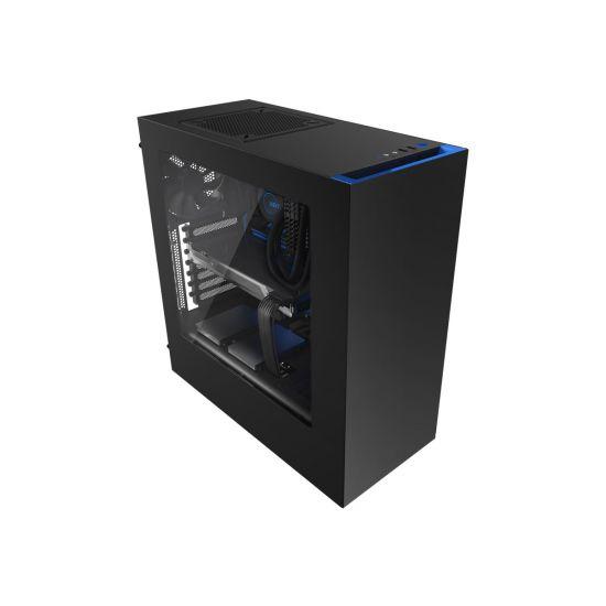 NZXT Source S340 - ATX Sort/blå