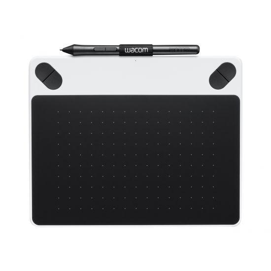 Wacom Intuos Draw Small - digitizer - USB - hvid
