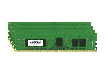 Crucial &#45 16GB: 4x4GB &#45 DDR4 &#45 2133MHz &#45 DIMM 288-PIN
