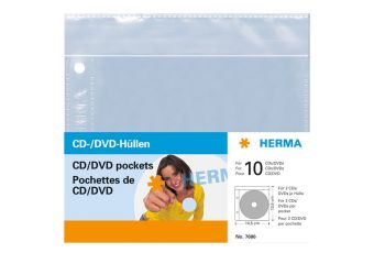 HERMA CD-/DVD-lomme