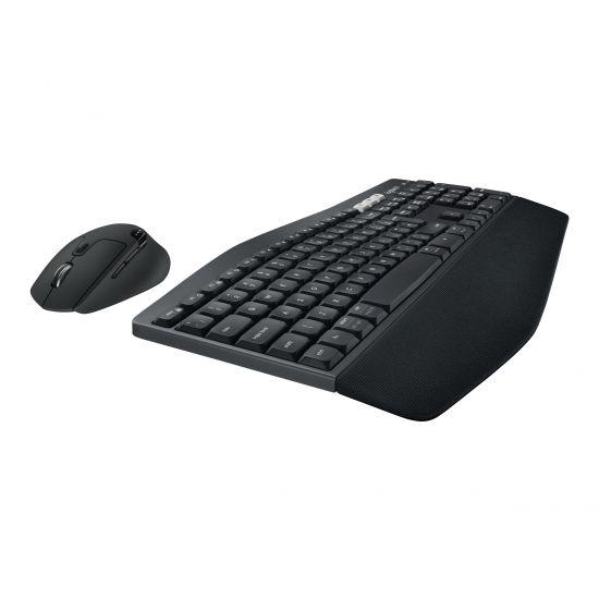 Logitech MK850 Performance - tastatur og mus-sæt - Dansk/Finsk/Norsk/Svensk