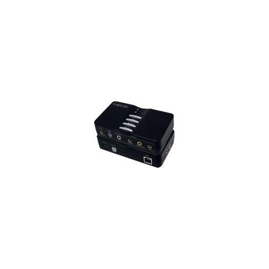 LogiLink USB Sound Box Dolby 7.1 - lydkort