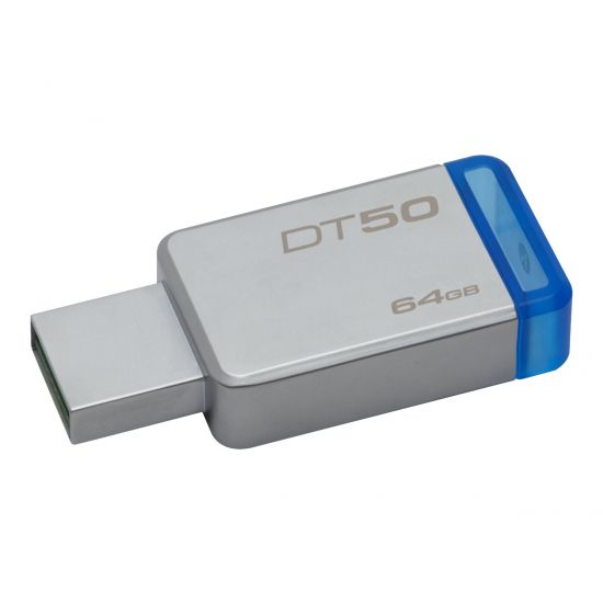 Kingston DataTraveler 50 - USB flashdrive - 64 GB