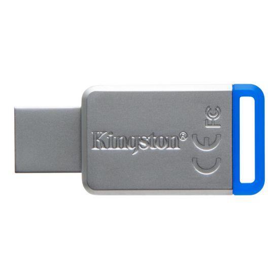 Kingston DataTraveler 50 - USB flashdrive - 64 GB