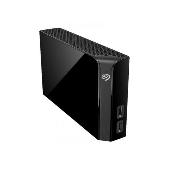 Seagate Backup Plus Hub STEL4000200 &#45 4TB - 2 x USB 3.0 (udgang)   USB 3.0 (indgang)