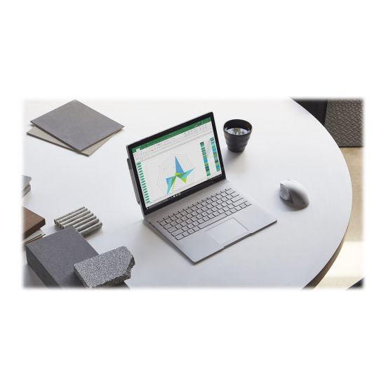 "Microsoft Surface Book 2 - 13.5"" - Core i7 8650U - 8 GB RAM - 256 GB SSD - Tysk"