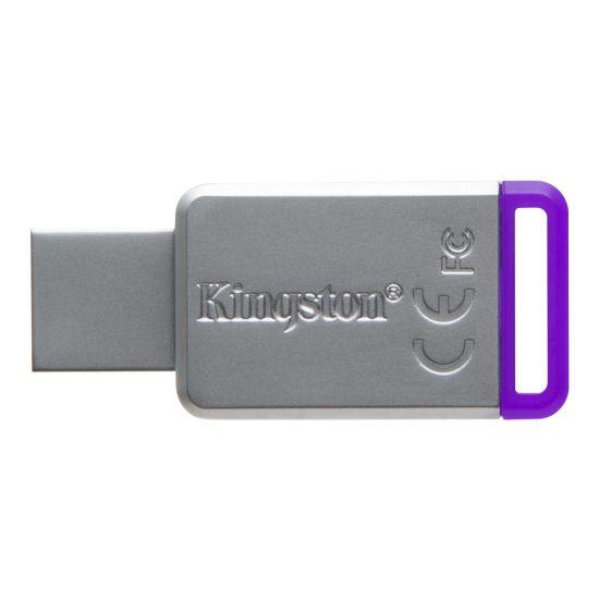 Kingston DataTraveler 50 - USB flashdrive - 8 GB