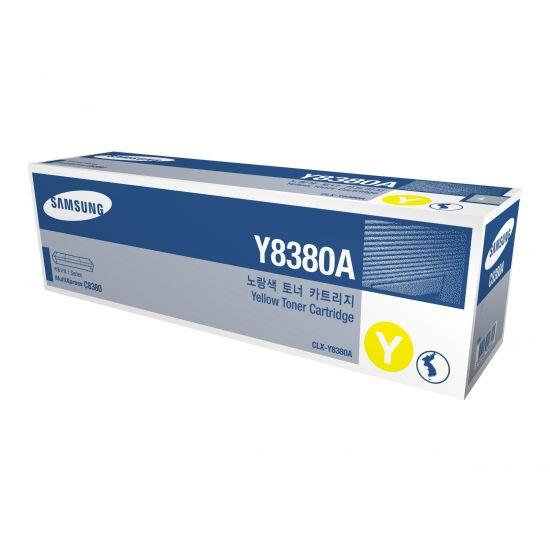 Samsung CLX-Y8380A - gul - original - tonerpatron (SU627A)