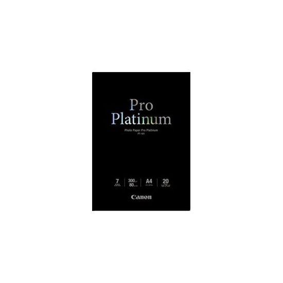 Canon Photo Paper Pro Platinum - fotopapir - 20 ark - A4 - 300 g/m²