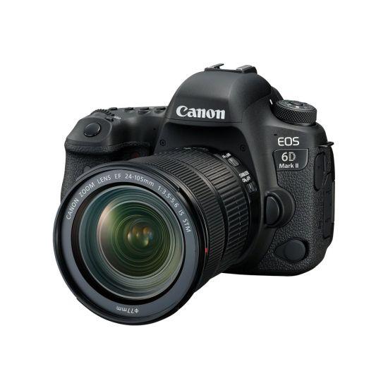 Canon EOS 6D Mark II - digitalkamera EF 24-105 mm IS STM objektiv