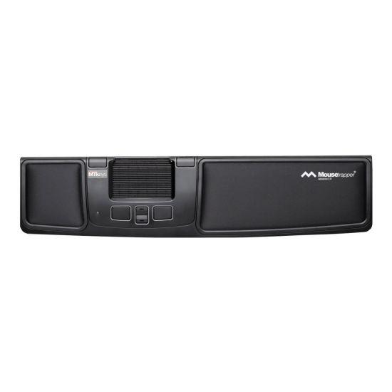 Mousetrapper Advance 2.0 - kontrolmåtte - USB - sort, hvid