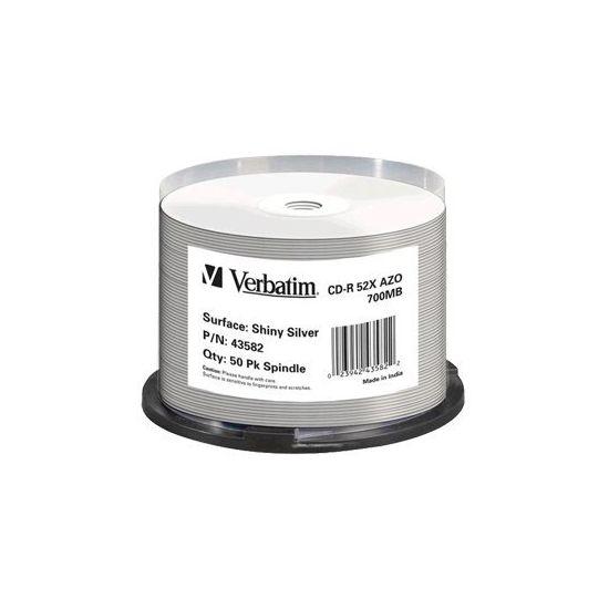 Verbatim - CD-R x 50stks - 700 MB - lagringsmedie