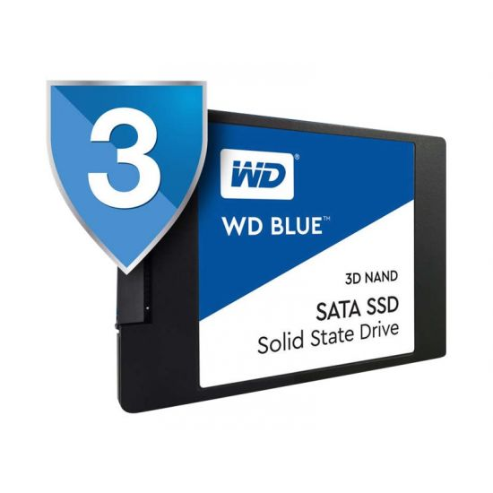 WD Blue 3D NAND SATA SSD WDS500G2B0A &#45 500GB - SATA 6 Gb/s