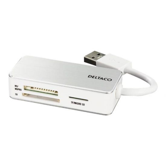 DELTACO USB 3.0 Kortlæser